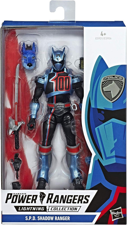 Power Rangers- PRG SPD SHADOW RANGER, Multicolor (Hasbro E5931ES1) , color/modelo surtido