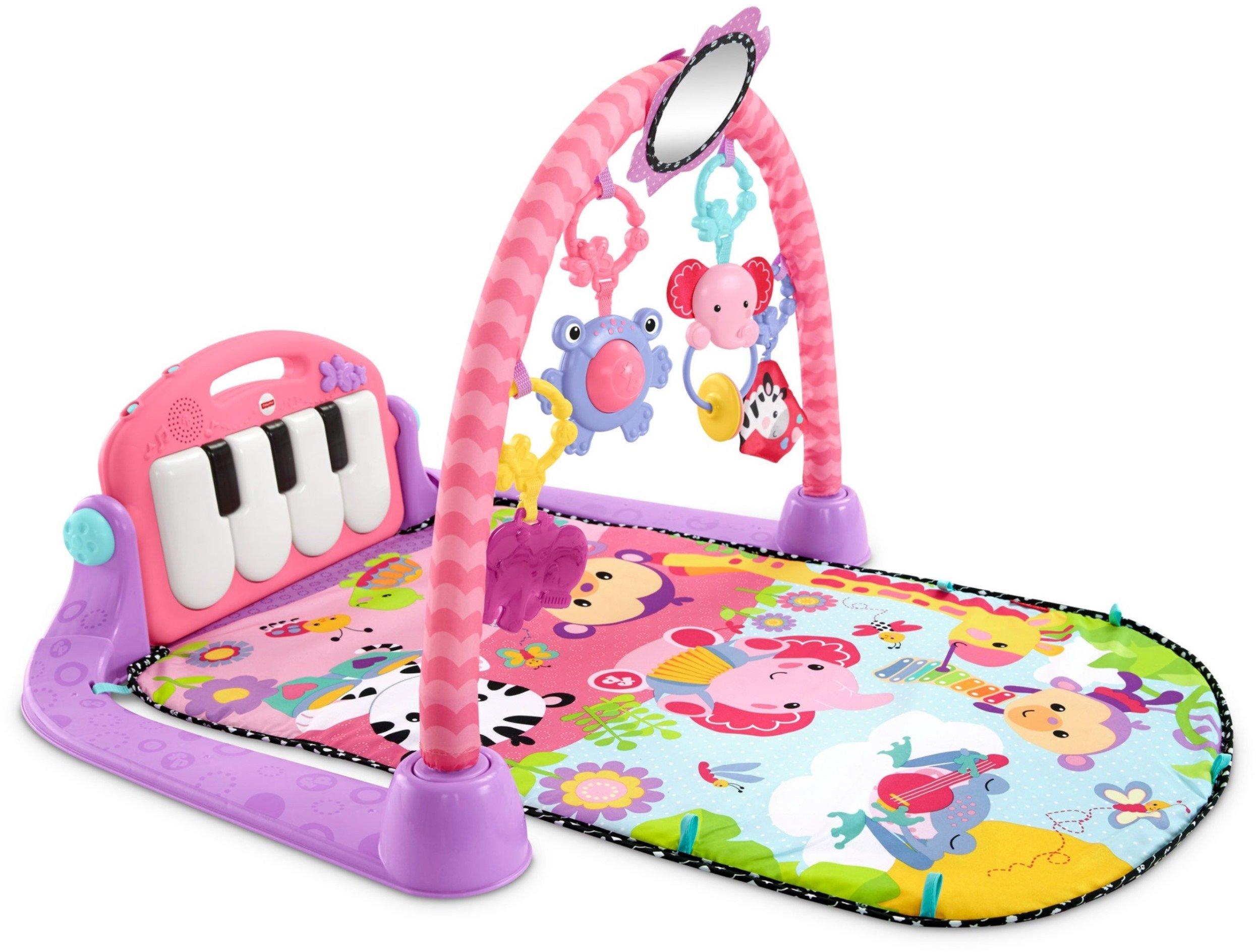 Fisher-Price Kick 'n Play Piano Gym, Pink