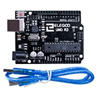 ELEGOO UNO R3 microcontroller Entwicklungsboard ATmega328P ATmega16U2 mit USB-Kabel für Arduino