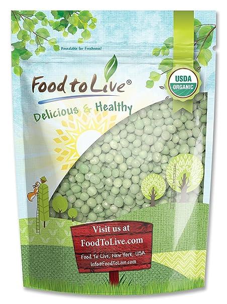 Food to Live Guisantes verdes brotantes Bio (Eco, Ecológico, Kosher) - 1.8
