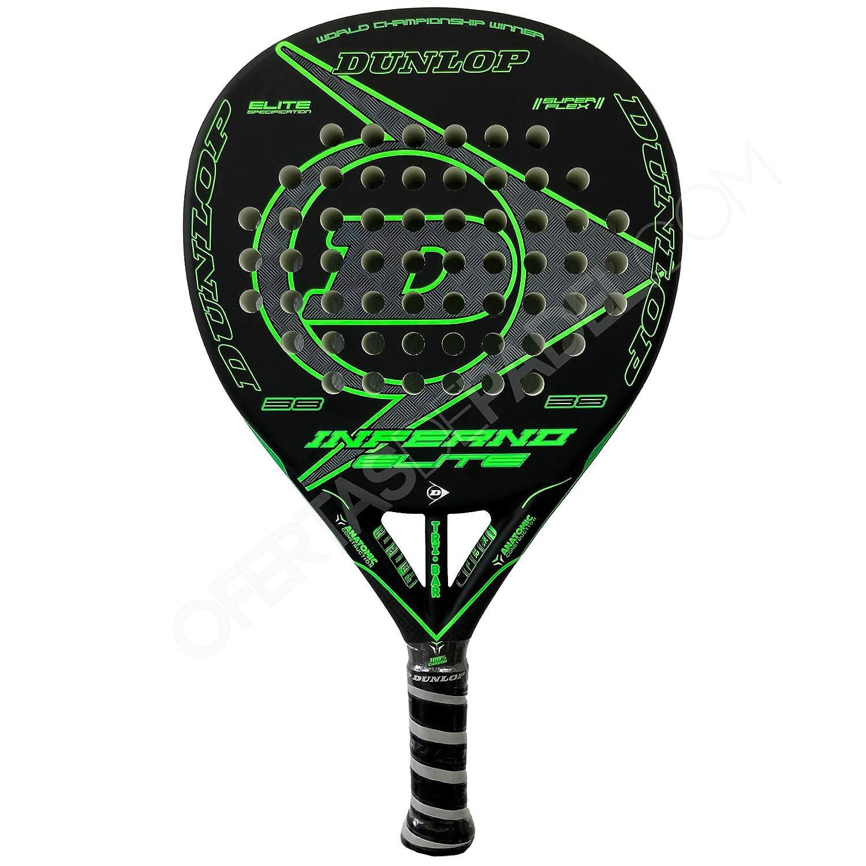 Dunlop Pala de Pádel Inferno Elite Green: Amazon.es ...