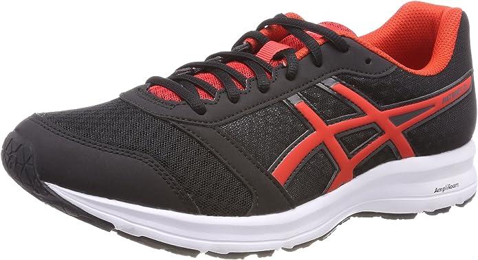 Asics Patriot 9, Zapatillas de Running para Hombre, Negro (Black/Fiery Red/White 9023), 41.5 EU: Amazon.es: Zapatos y complementos