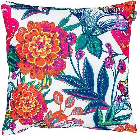 Bean Bag Bazaar Cojín para Exteriores – 43 cm x 43 cm – Relleno de Fibra, Resistente al Agua – Rainbow Decorativo Scatter Cojines para Banco de jardín, Silla o sofá: Amazon.es: Jardín