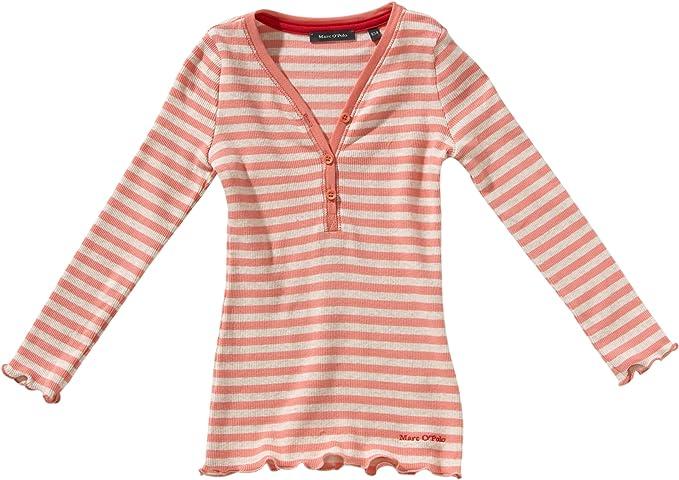 Marc OPolo - Camiseta con Cuello de Polo de Manga Larga para niña ...