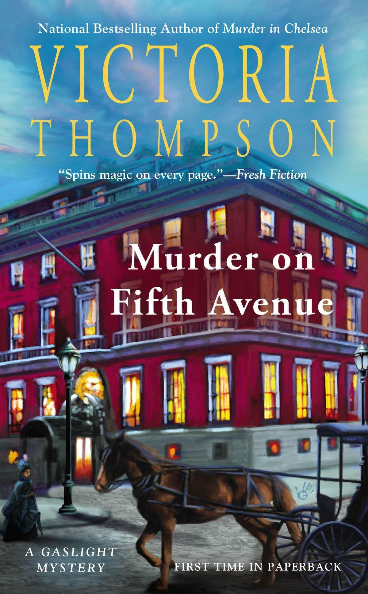 Murder on Fifth Avenue: A Gaslight Mystery pdf