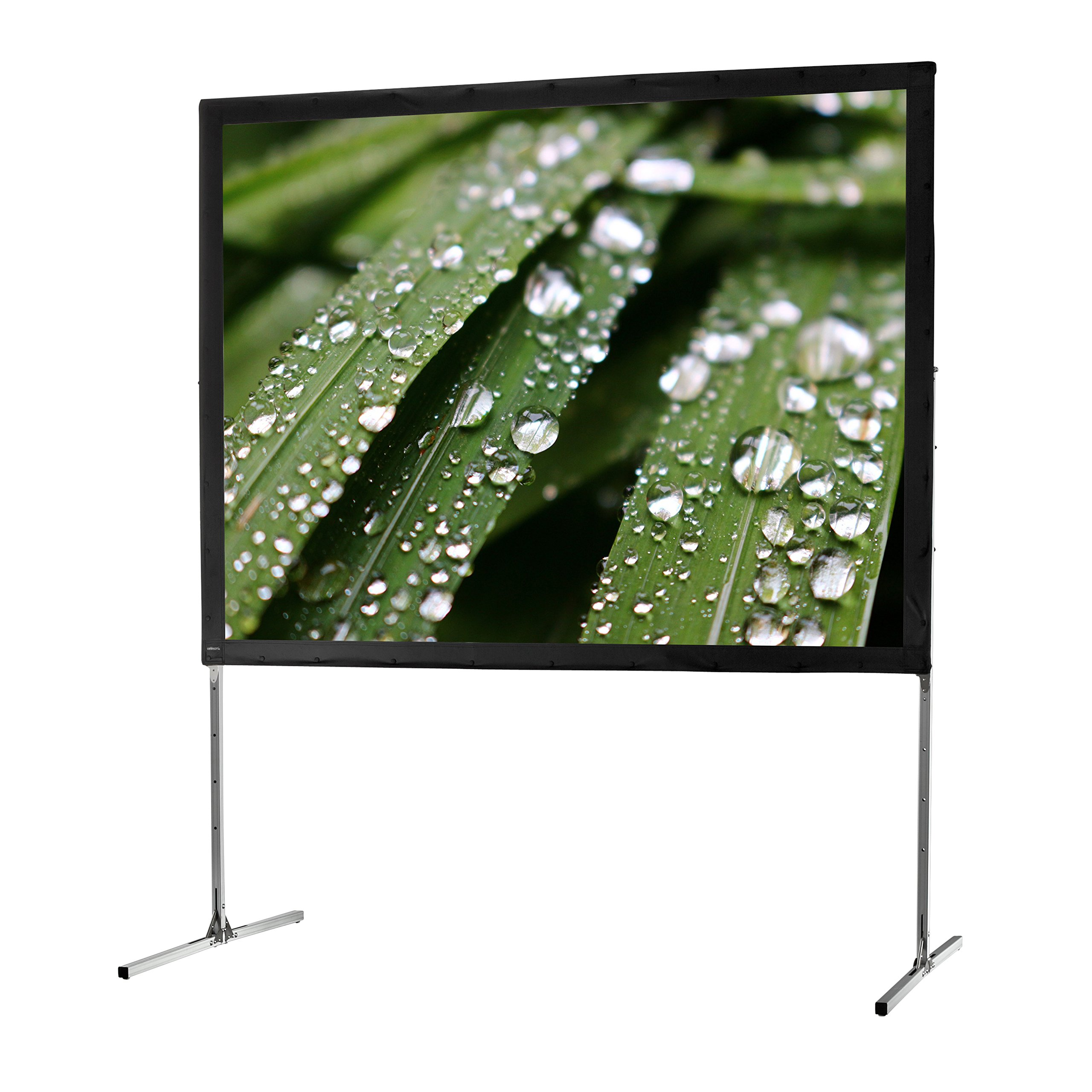 "celexon 200"" Folding Frame Screen Mobile Expert, Front Projection Screen 