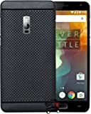 Jkobi 360* Protection Premium Dotted Designed Soft Rubberised Back Case Cover For OnePlus 2 / OnePlus Two 1+2/ One Plus 2 -Black