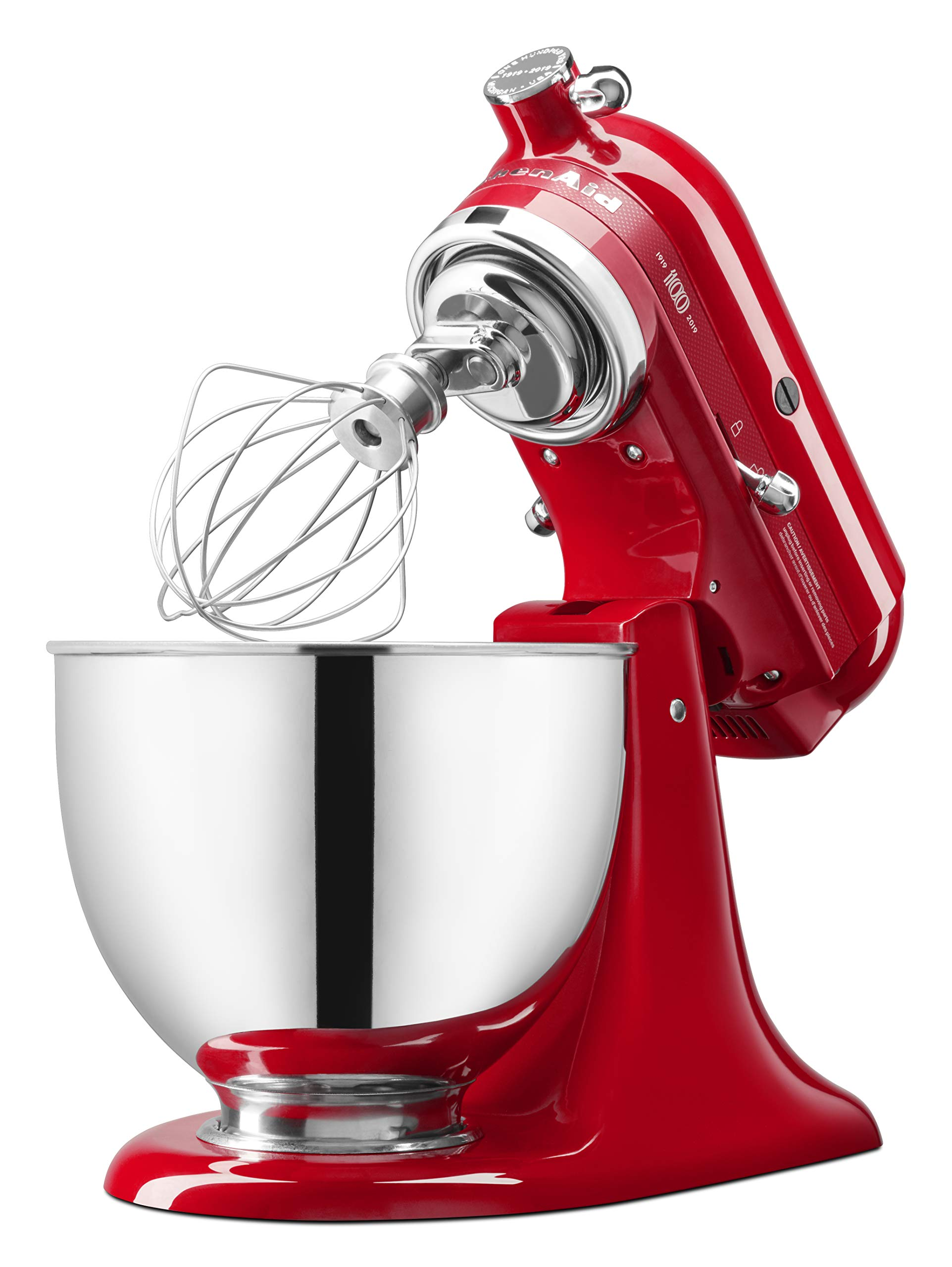 KitchenAid KSM180QHSD 100 Year Limited Edition Queen of Hearts Stand Mixer, Passion Red by KitchenAid (Image #5)