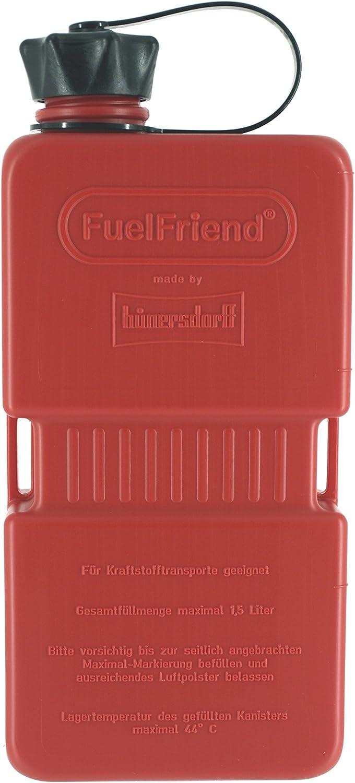 Fuelfriend PLUS 1,5l Rosso Benzina Tanica di riserva per Auto Moto Quad