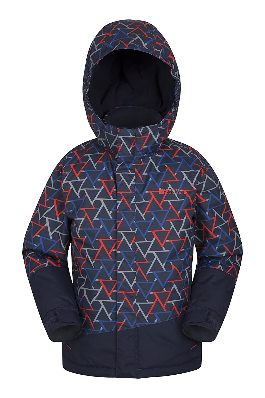 Mountain Warehouse Traverse Kids Ski Jacket -Snowproof Childrens Coat