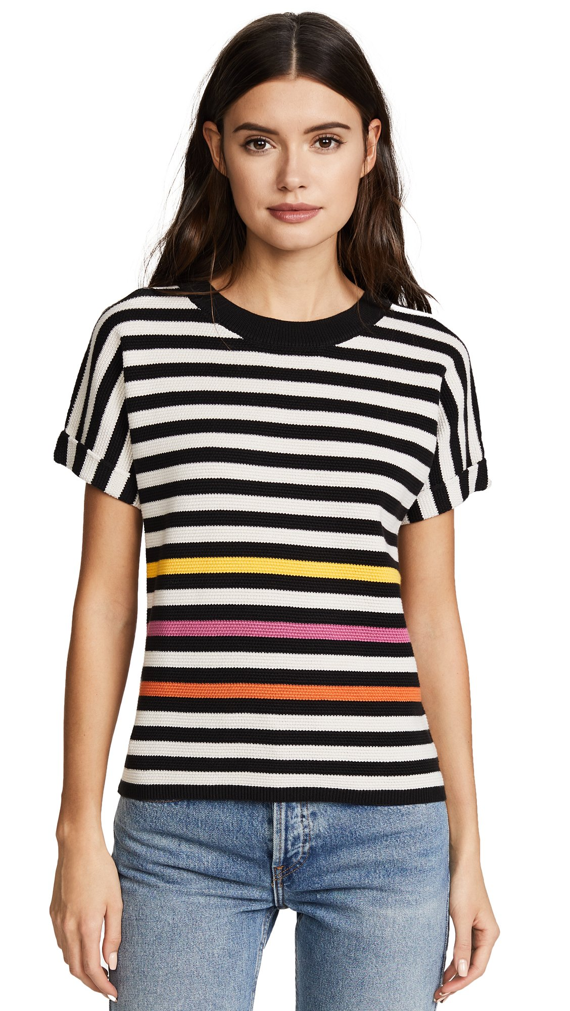 Paul Smith Women's Striped Tee, Multi, Medium