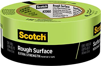 "3M 2060-48A 2/"" Green Scotch® Lacquer Masking Tape Price is for 10 Rolls"