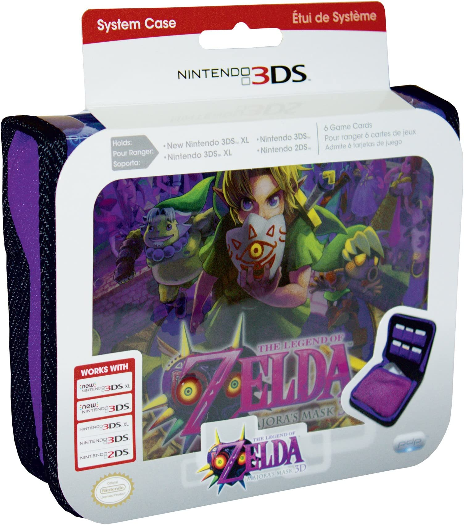 PDP Legend of Zelda Majoras Mask 3ds Case