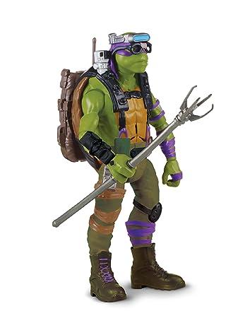 Las Tortugas Ninja 2 - Hablar Deluxe Figura - Donatello ...