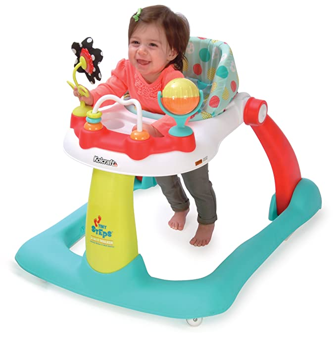 Amazon.com: Kolcraft Tiny Steps Too Baby & Toddler Walker ...
