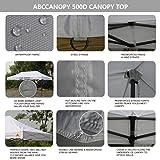 ABCCANOPY 10x20 Straight Leg Pop-up Canopy