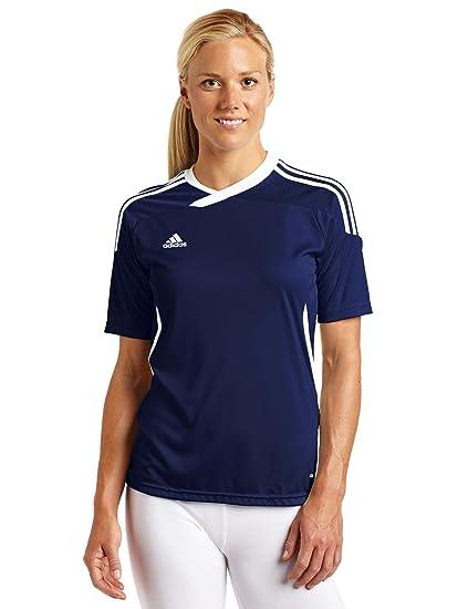 Amazon.com  adidas Women s Tiro 11 Short-Sleeve Jersey Top  Clothing b5dbff3bc
