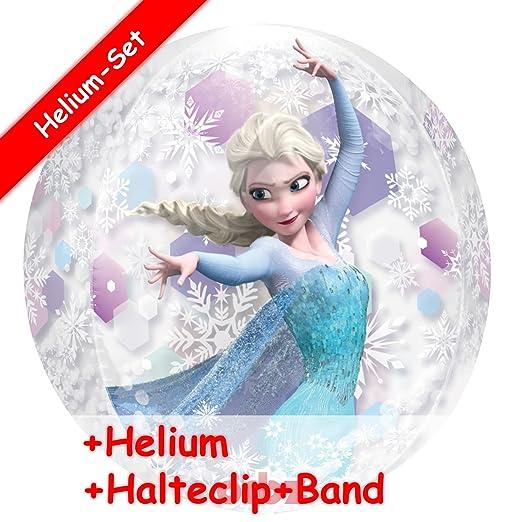 GLOBO Juego * Frozen Anna & Elsa * + Helium relleno + Clip ...