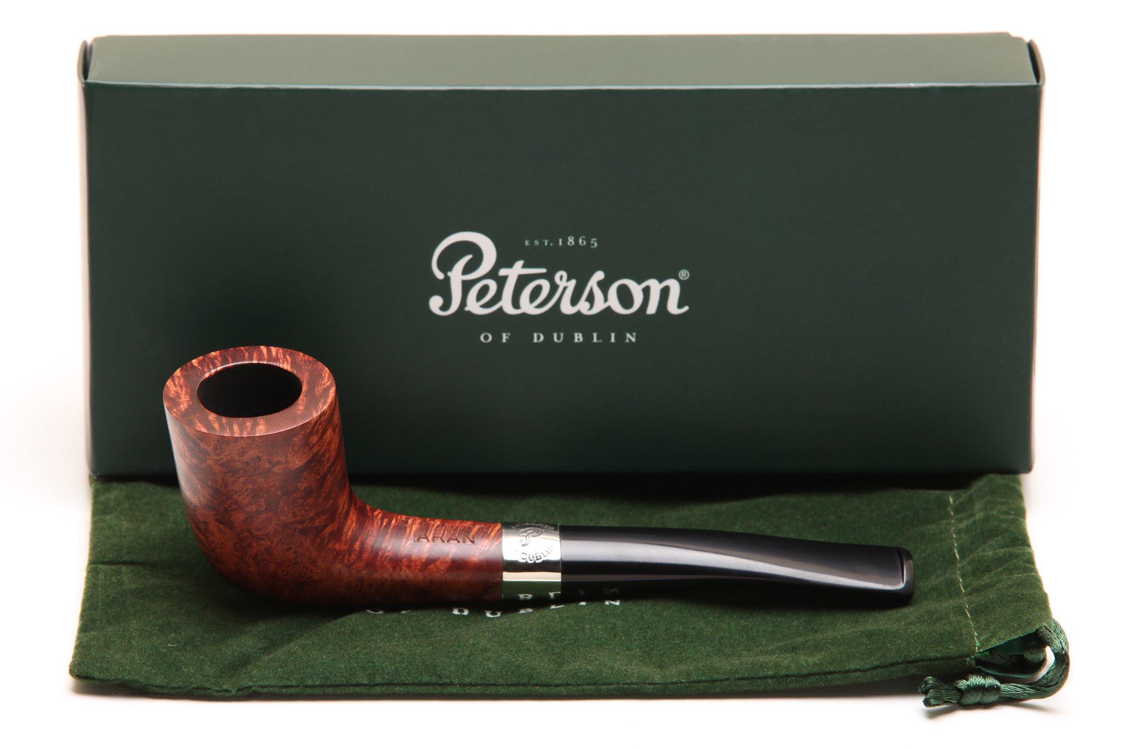 Peterson Aran 268 Tobacco Pipe Fishtail