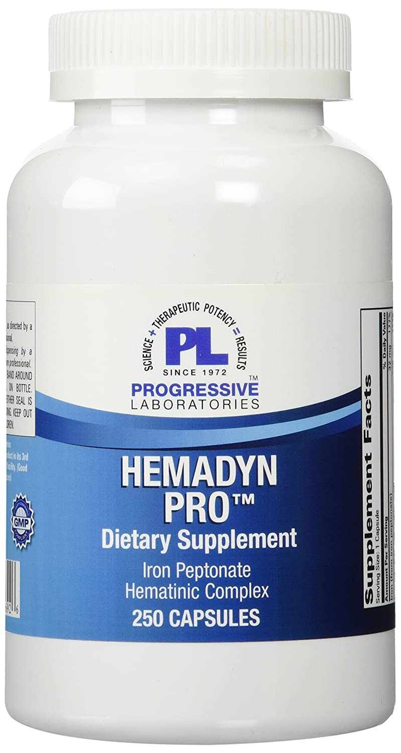 Progressive Labs Hemadyn Pro Supplement, 250 Count