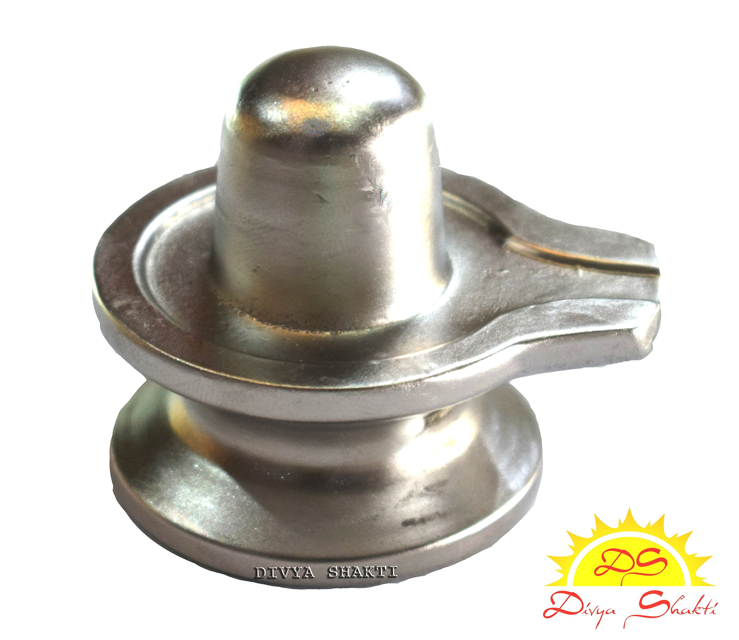 Divya Shakti 100 % Pure Healing Parad shivling AAA QUALITY ( 50 grams) Lord Shiva's Parad shivlingam ( Indian products from India )