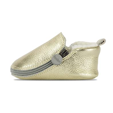 be75ee630b7502 Buku Babies Genuine Leather Baby Shoes Girls   Boys Walkers Crib Shoes  Moccasins Booties (1