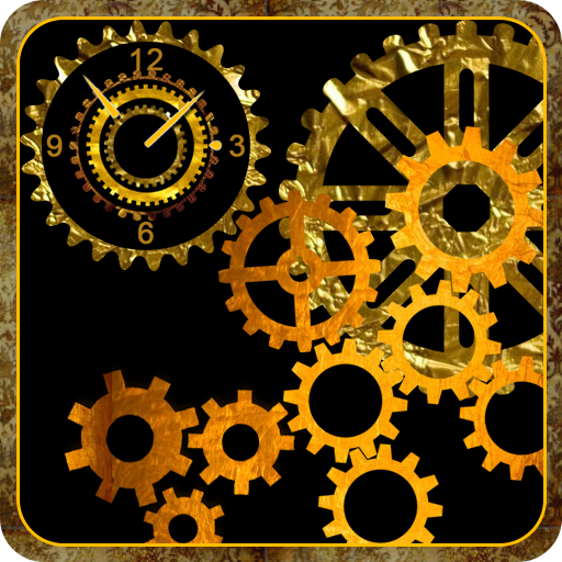 Mechanical Gear Clock Live Wallpaperamazonappstore