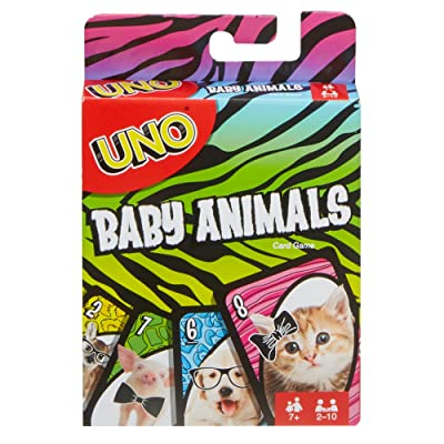 UNO: Baby Animals - Card Game: Toys & Games [5Bkhe0906197]