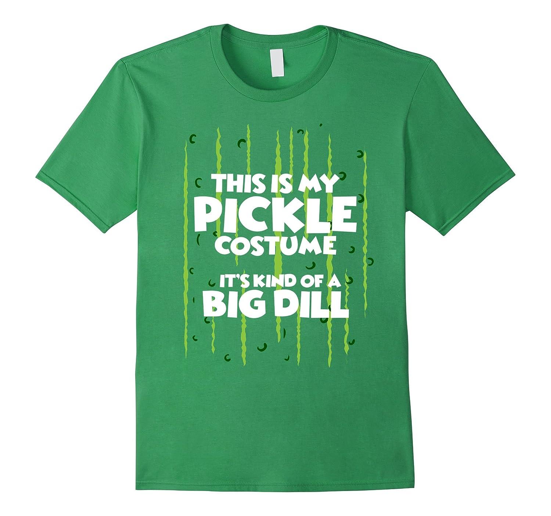 Pickle Halloween Costume Shirt Easy Funny Women Men Kids-FL
