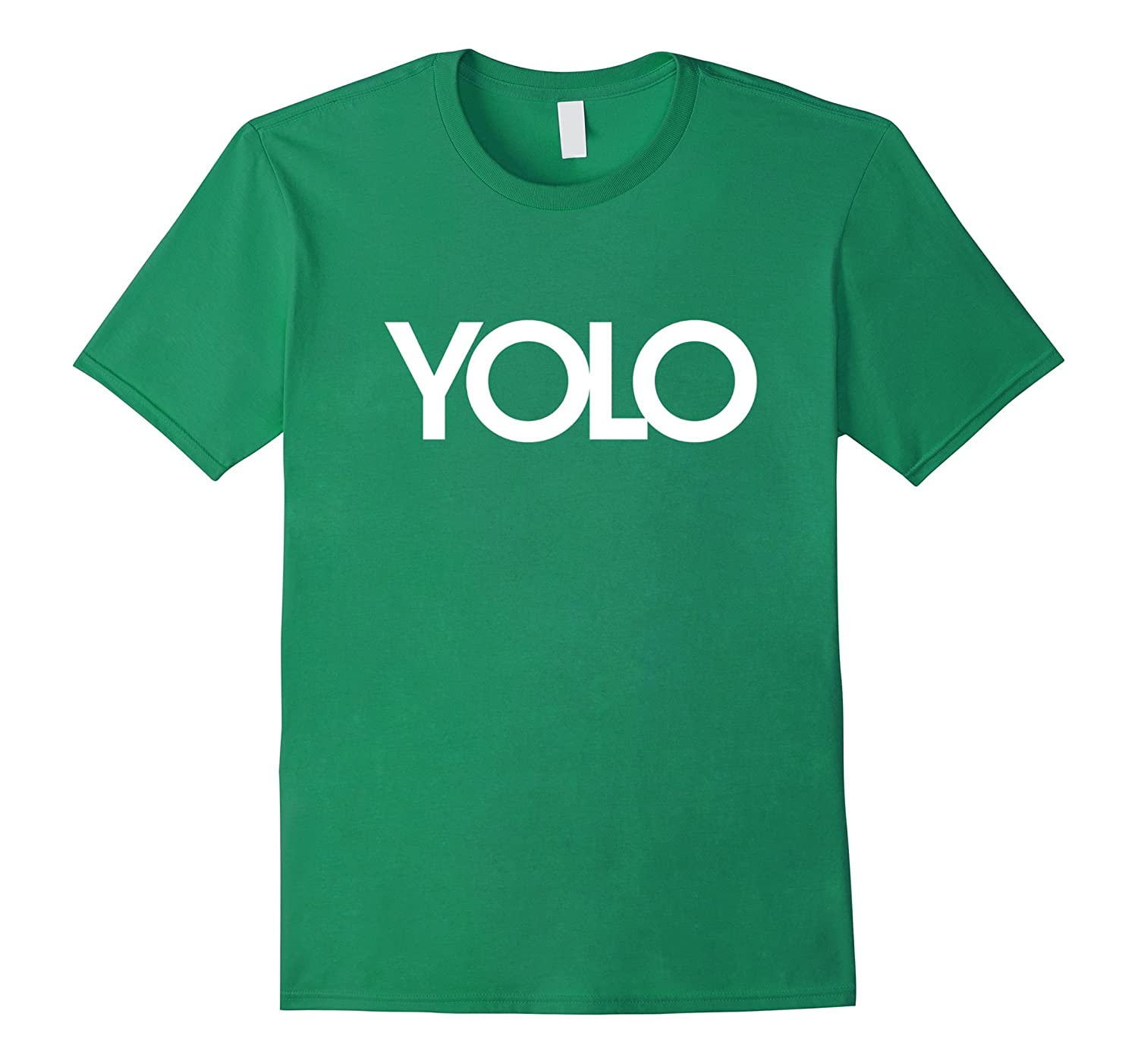 YOLO shirt you only live once t-shirt with swag-TH