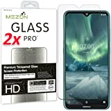[2 Pack] MEZON Tempered Glass for Nokia 5.3 - Crystal Clear Premium 9H HD Screen Protector – Case Friendly, Shock…