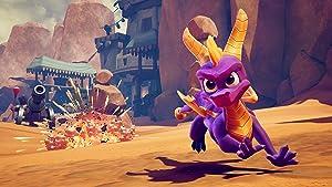 Spyro Crash Remastered Bundle - PlayStation 4 (Color: red)