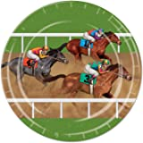 Beistle Horse Racing Plates, 9-Inch, Multicolor