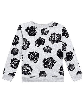 c9f3bfcea1b Amazon.com  Kenzo Kids Mens All Over Printed Sweater (Big Kids ...