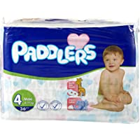 Paddlers Maxi 36 Adet (8-19 Kg) Eko Paket Bebek Bezi, Beyaz