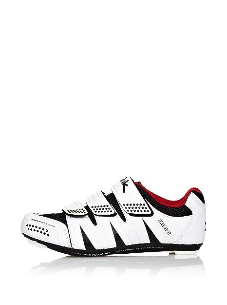 Spiuk ZS22R01_Blanco / Negro-37 - Zapatillas De Ciclismo Zs22 Road: Amazon.es: Zapatos y complementos