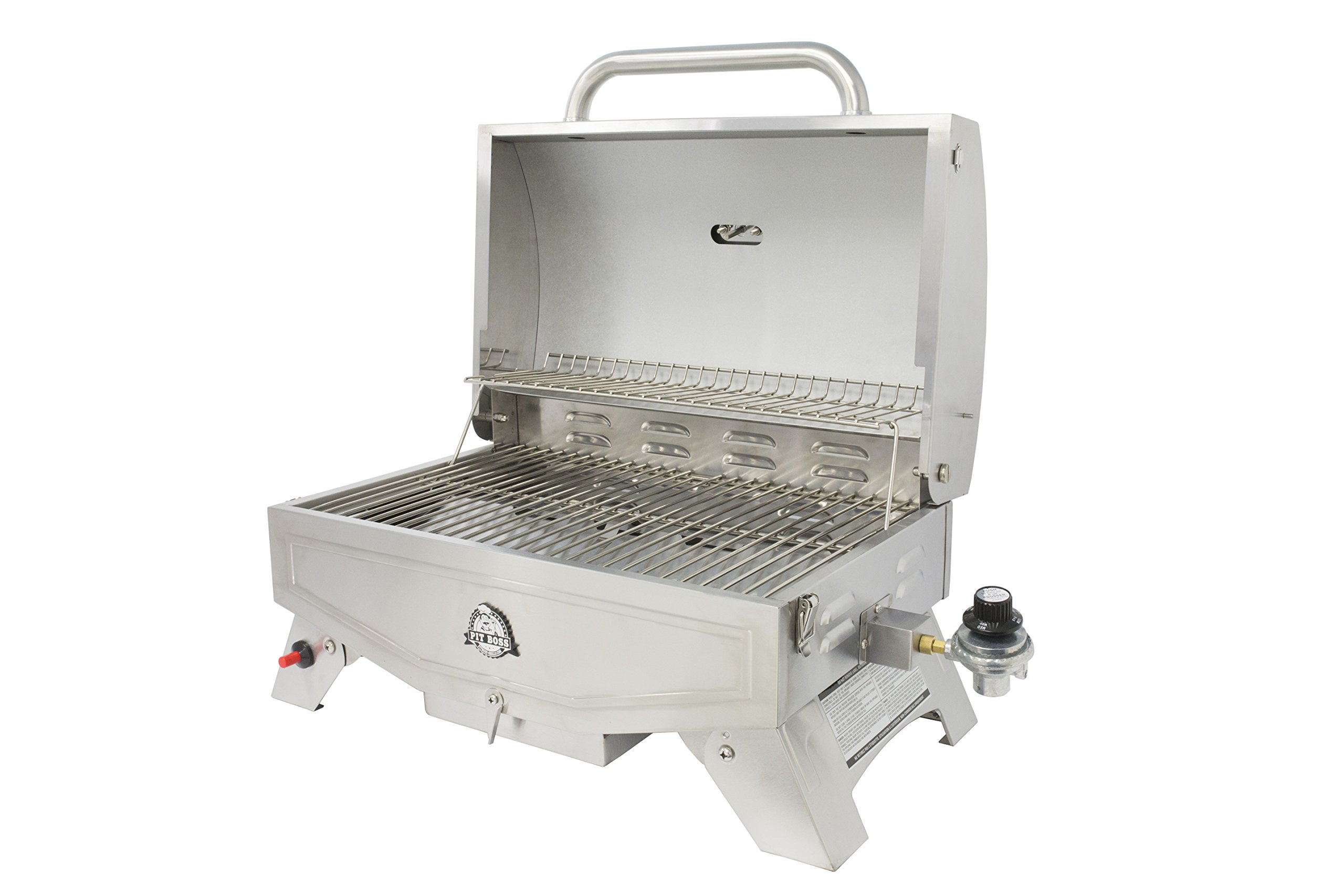 Pit Boss Grills PB100P1 Pit Stop Single-Burner Portable Tabletop Grill by Pit Boss Grills (Image #3)