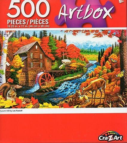 Cra-Z-Art Artbox Autumn Mill by Lee Radcliff 500 Piece Jigsaw Puzzle