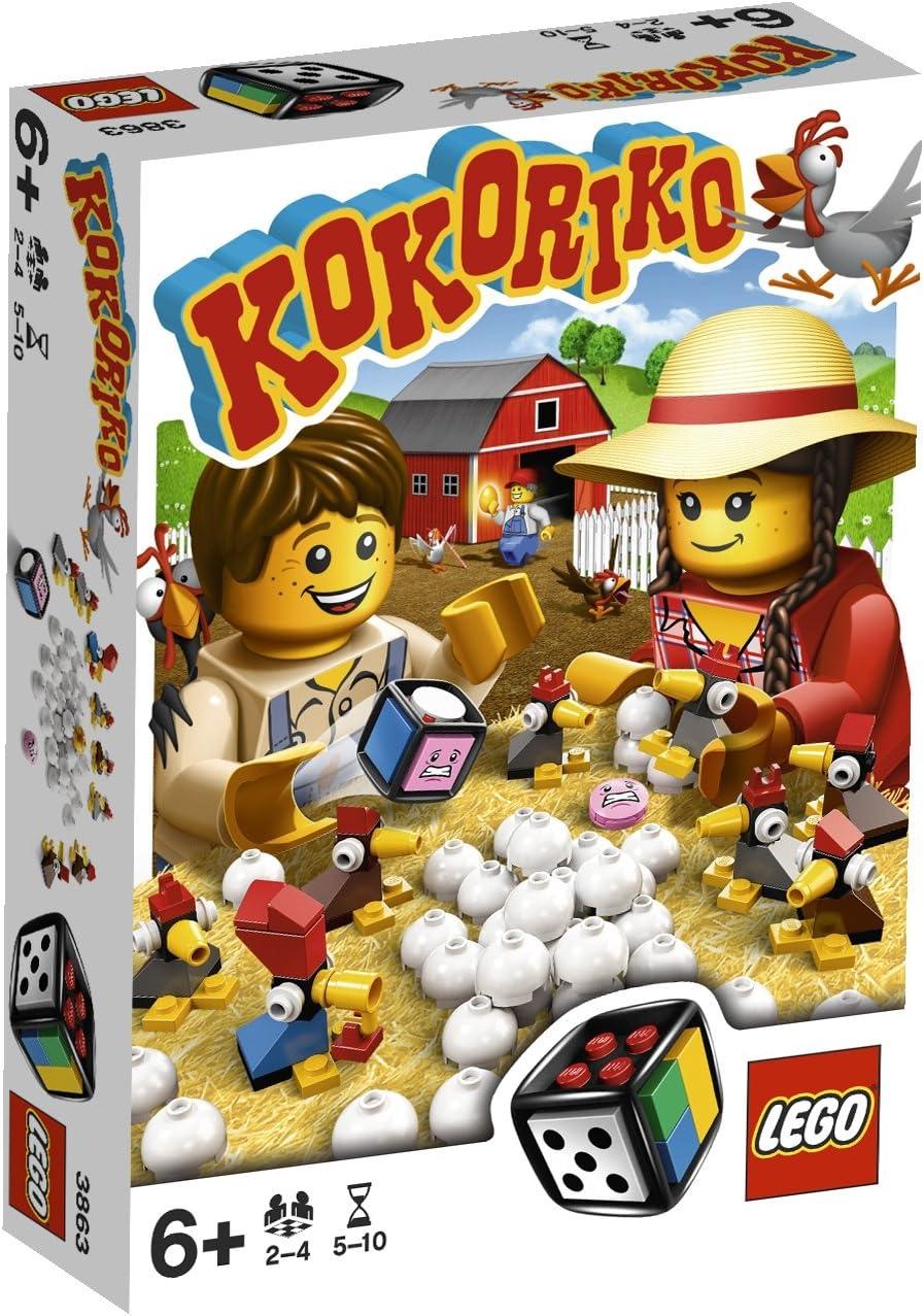LEGO Juegos de Mesa 3863 - Kokoriko: Amazon.es: Juguetes y juegos