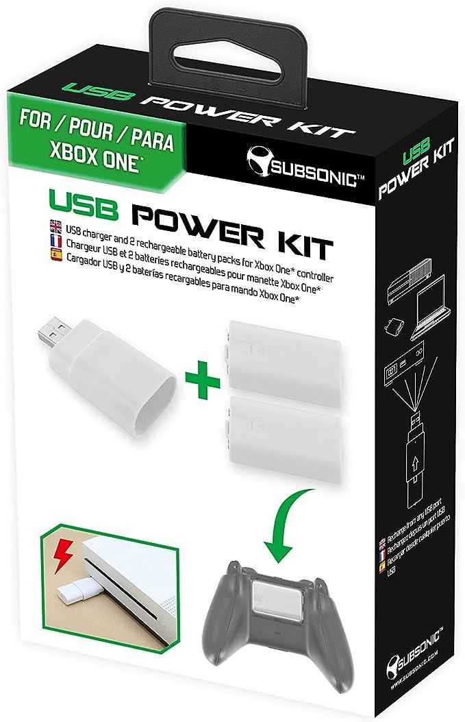 Subsonic - Kit De Carga Sin Hilos, 2 Baterías Y Cargador, Color ...