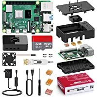 Bqeel Raspberry Pi 4 Model B 【8GB RAM+32GB SD Card 】 Versión Actualizada de Raspberry pi 3b+ con 1 Micro HDMI,BT 5.0…