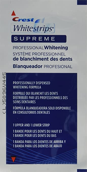 Image Unavailable Not Available For Color Crest Whitestrips Supreme Professional Whitening