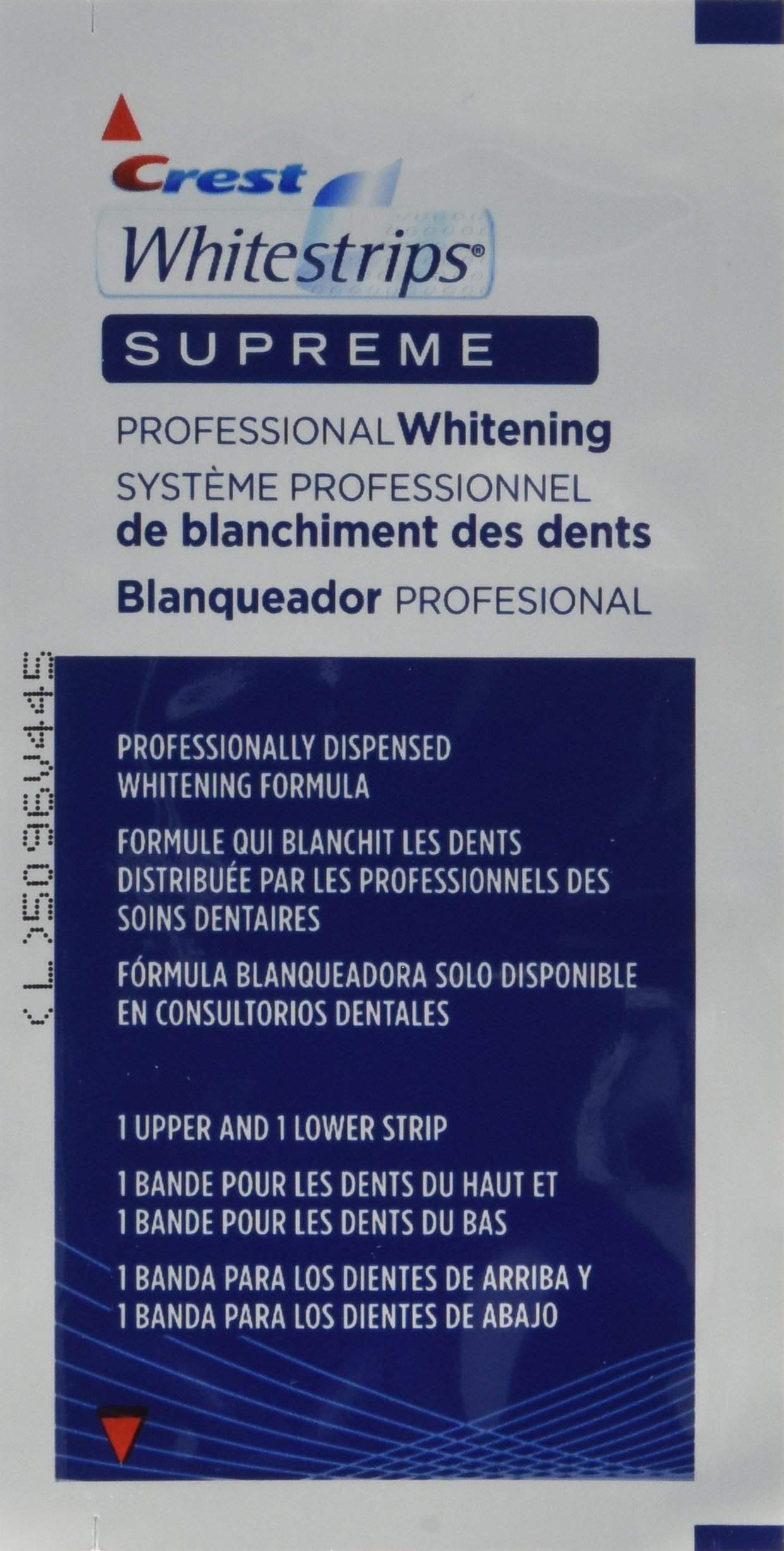 Crest Whitestrips Supreme Professional Whitening 84 strips by Crest (Image #1)