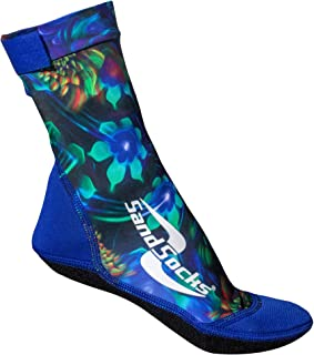 product image for Sand Socks for Beach Soccer, Sand Volleyball and Snorkeling Hawaiian X-Small