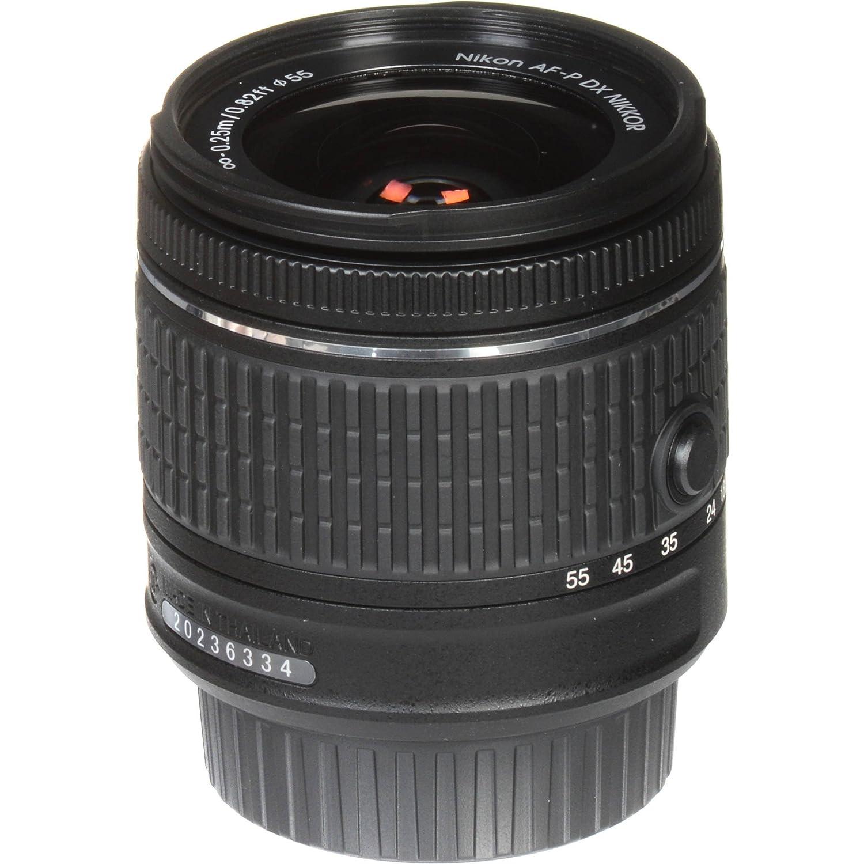 Certified Refurbished Nikon 18-55mm f//3.5-5.6G VR AF-P DX Zoom-Nikkor Lens