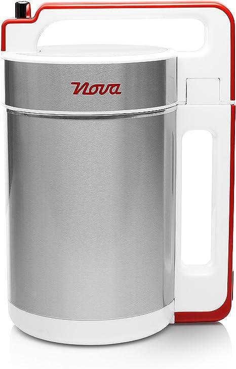 Nova 210310 - Licuadora y máquina para hacer sopa, batidos o salsas, capacidad 1.5 L, 200 W, acero inoxidable, 5 programas automáticos: Amazon.es: Hogar