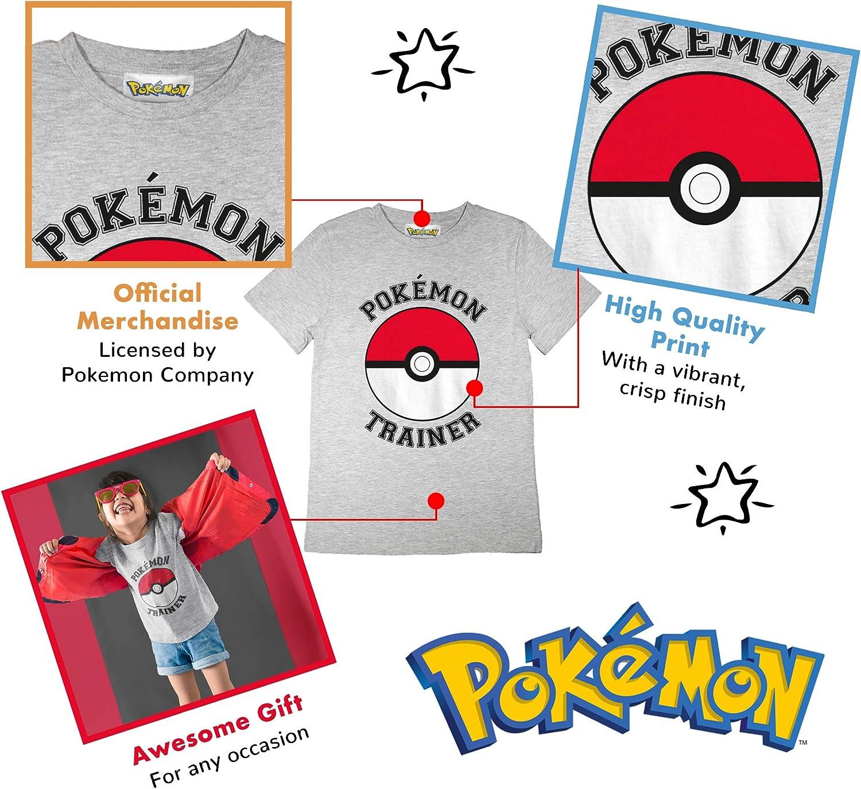 Official Merchandise Pokemon Trainer Poke Ball Girls T-Shirt