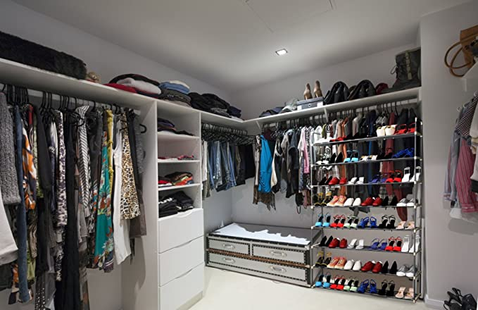 Amazon.com: Organizador de zapatos, fácil de montar, no ...