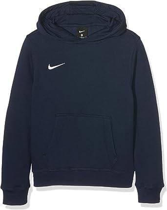 Nota persuadir Ceder el paso  Nike 658500 Youth Team Club Hoody - Sudadera unisex con capucha para niños:  Amazon.es: Ropa y accesorios