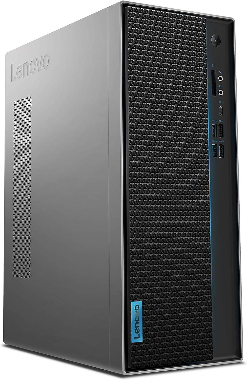 Lenovo IdeaCentre T540 Gaming Desktop PC (Intel Core i5-9400F, 16 GB di RAM + 512 GB SSD, Nvidia GeForce GTX1660, Windows 10 Home) Grigio